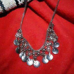 Boho gypsy necklace